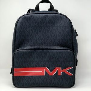 NWT Michael Kors men's Signature backpack